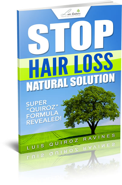 Stop hair loss natural solution