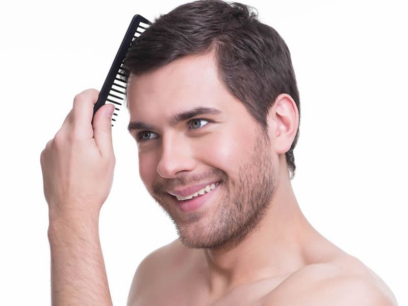 Get thicker, darker head of hair
