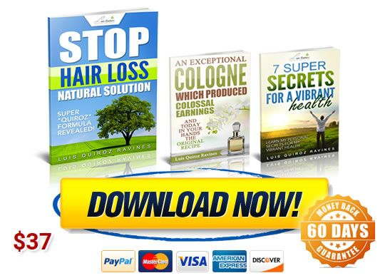 Stop hair loss natural solution products